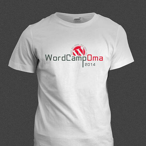 wordcamp omaha t-shirt design