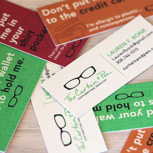 entrepreneur business cards