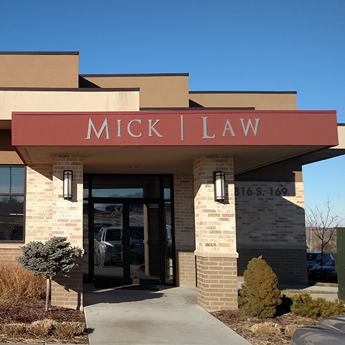law office sign, omaha signage