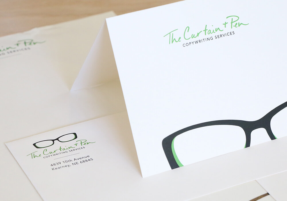 business stationary, branding