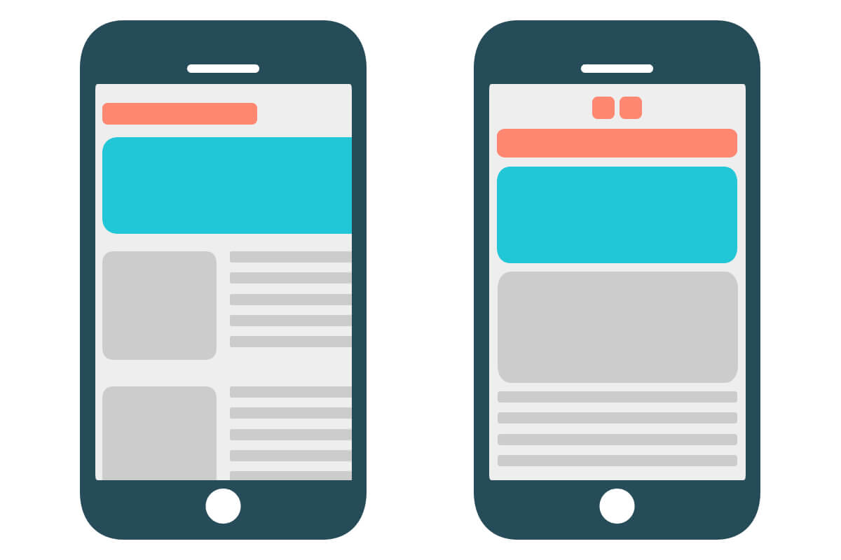 mobile responsive, mobile friendly website