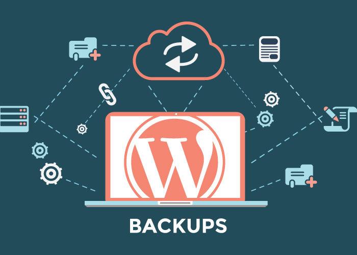 Backing up your WordPress website