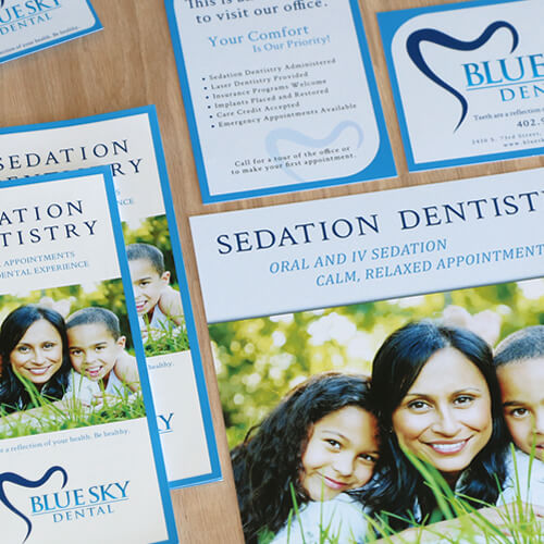 marketing collateral for dentist office