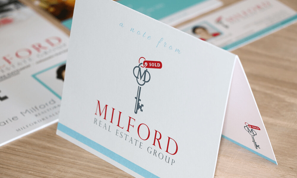 marketing collateral, print design, notecards
