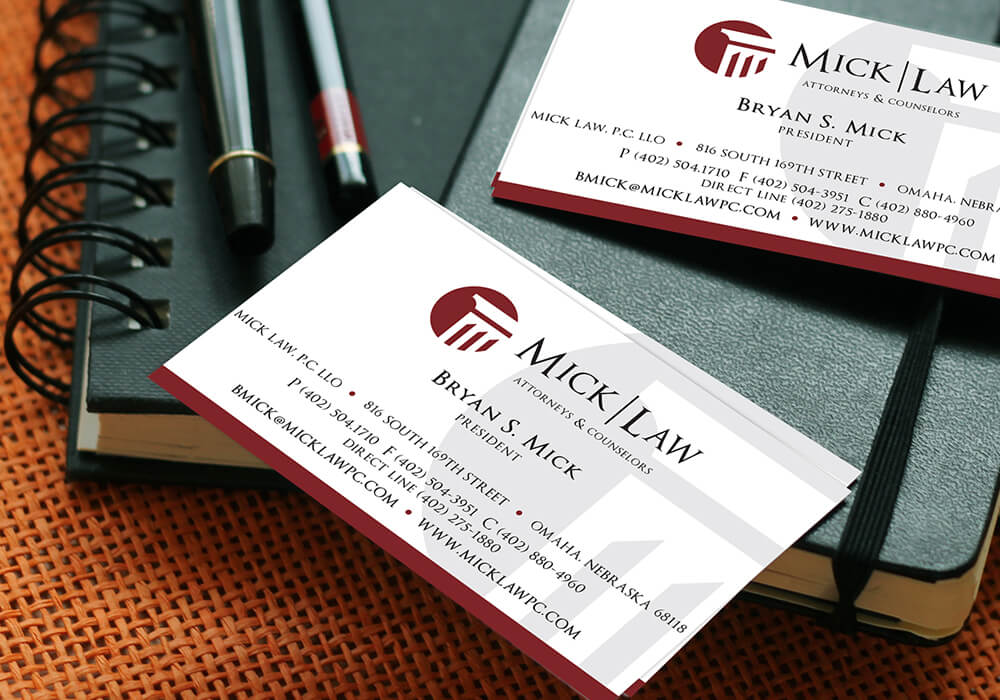 legal office business cards