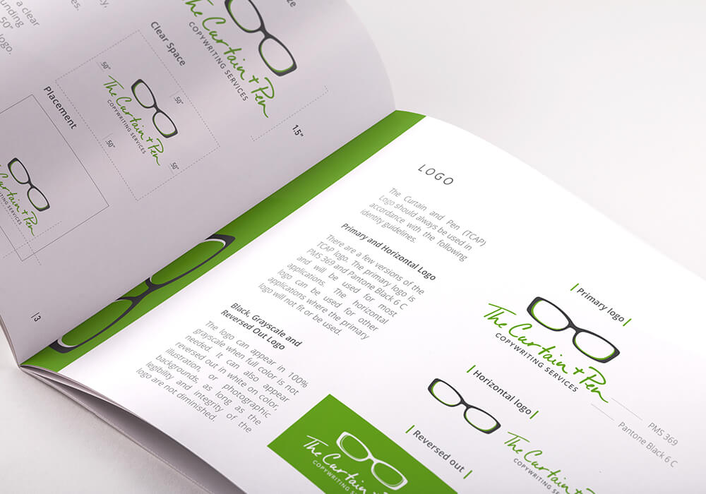 brand guidelines book, brand style book