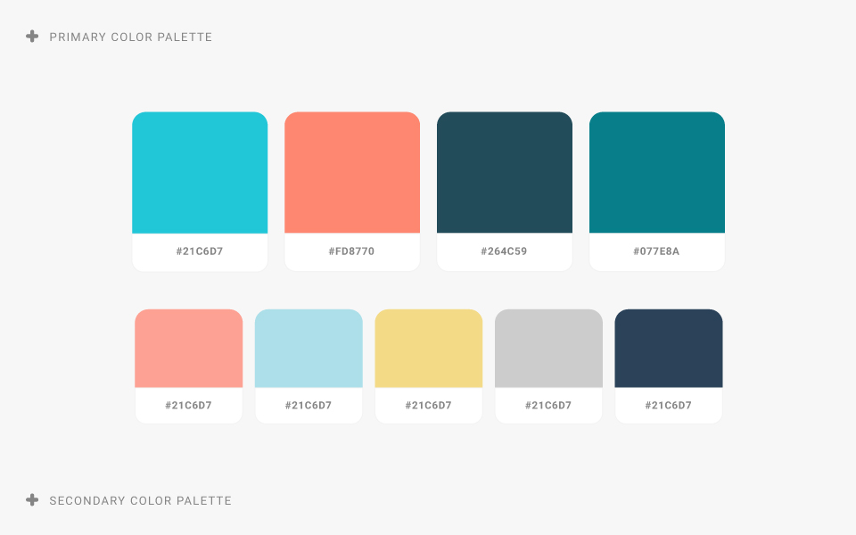 brand refresh color palette