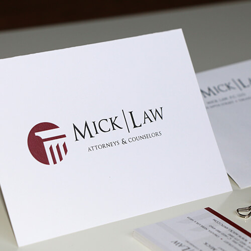 law firm stationary