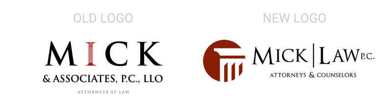 Rebranding of Mick Law, Omaha, NE