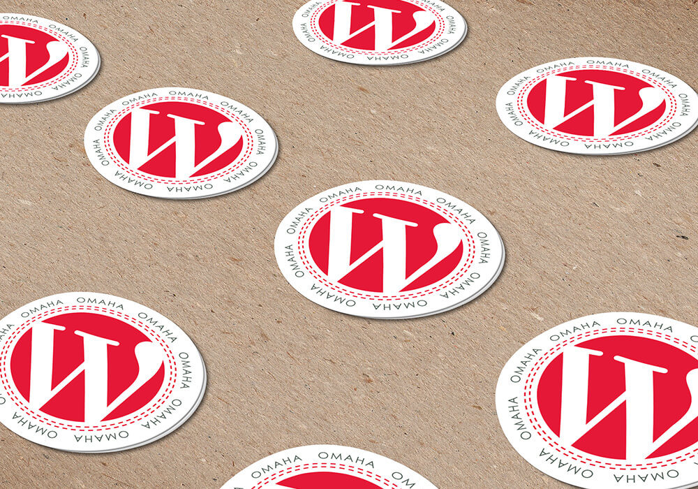 WordCamp Omaha, stickers