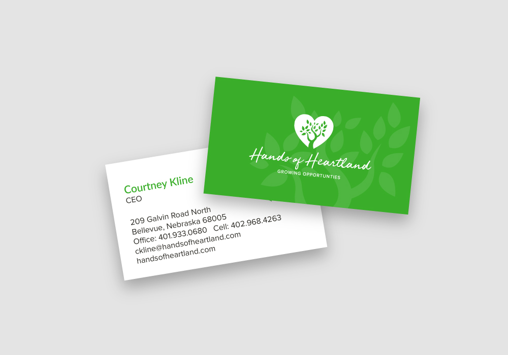 business card design, print design
